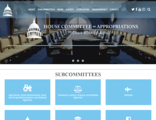 appropriations.house.gov screenshot