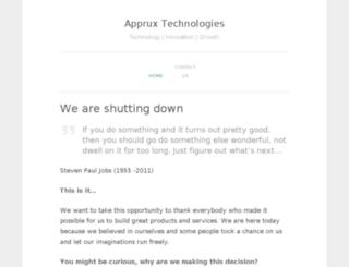 apprux.com screenshot
