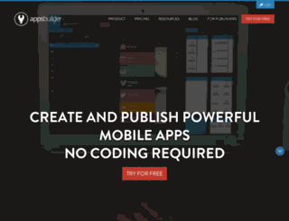 apps.apps-builder.com screenshot