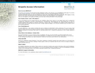 apps.brepolis.net screenshot