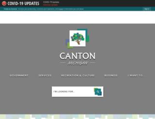 apps.canton-mi.org screenshot