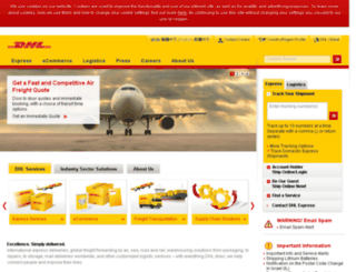 apps.dhl.com.hk screenshot