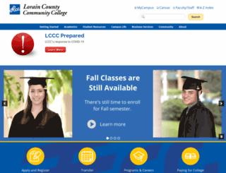 apps.lorainccc.edu screenshot