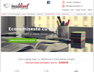 apps.maildirect.ro screenshot