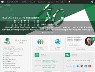 apps.oakgov.com screenshot