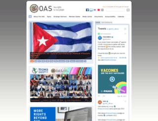 apps.oas.org screenshot
