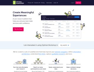 apps.optimalworkshop.com screenshot