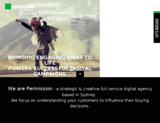 apps.permission.com.au screenshot