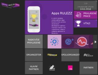 apps.rulezz.sk screenshot