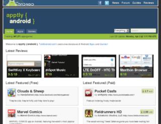 apps.talkandroid.com screenshot