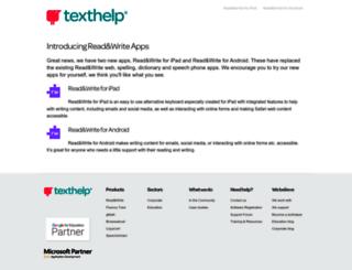 apps.texthelp.com screenshot