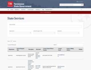 apps.tn.gov screenshot