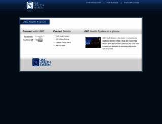 apps.umchealthsystem.com screenshot