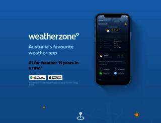 apps.weatherzone.com.au screenshot