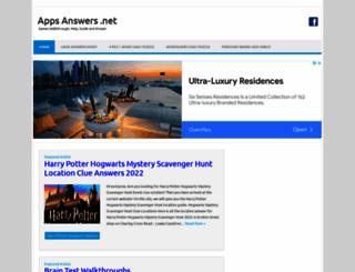 appsanswers.net screenshot