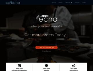 appsecho.com screenshot
