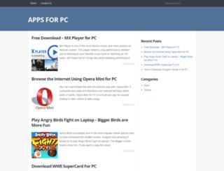 appsforpcstore.com screenshot