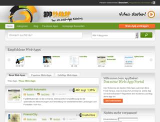 appshaker.de screenshot