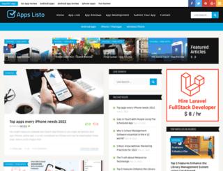 appslisto.com screenshot