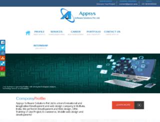 appsys.asia screenshot