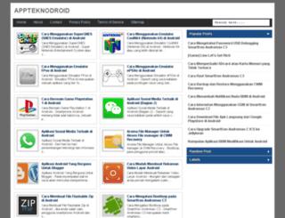 appteknodroid.blogspot.com screenshot