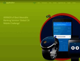 apptivation.co.uk screenshot