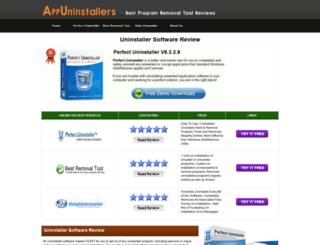 appuninstallers.com screenshot