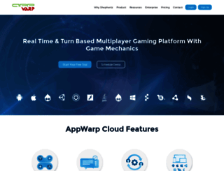 appwarp.shephertz.com screenshot