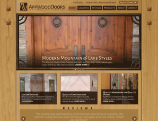 appwooddoors.com screenshot
