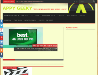 appygeeky.com screenshot