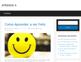 aprendea.co screenshot