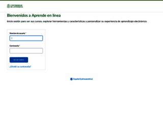 aprendeenlinea.udea.edu.co screenshot