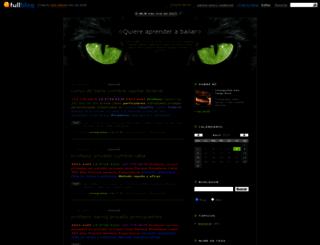 aprenderabailarya.fullblog.com.ar screenshot