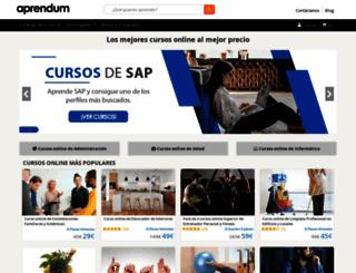 aprendum.com screenshot