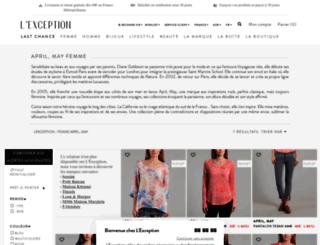 april-may.lexception.com screenshot