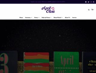 aprilolivia.com screenshot