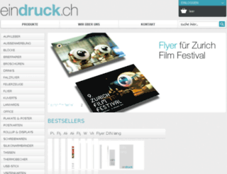 aprint24.ch screenshot