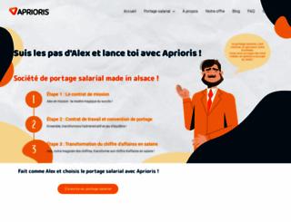 aprioris.fr screenshot