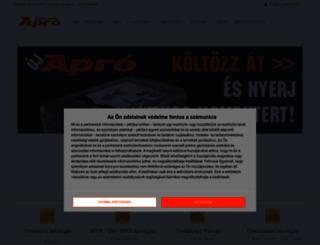 apro.bikemag.hu screenshot