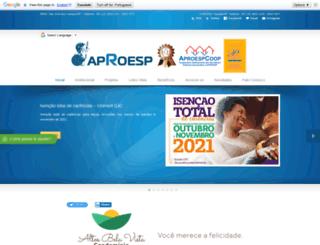 aproesp.com.br screenshot