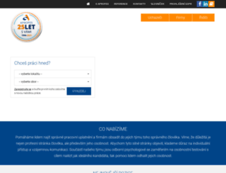 aprofes.cz screenshot