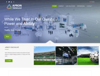 apronteknoloji.com screenshot