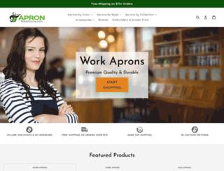 apronwarehouse.com screenshot