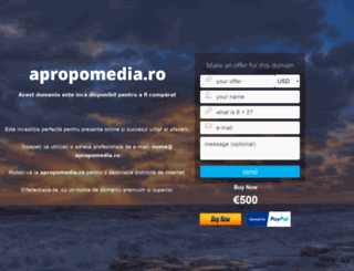 apropomedia.ro screenshot