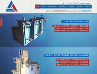 aprotechindia.com screenshot