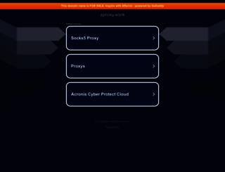 aproxy.work screenshot