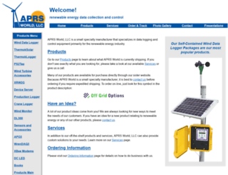 aprsworld.com screenshot