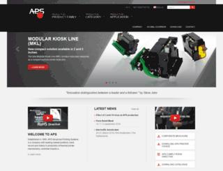 aps-printers.com screenshot