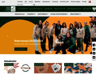 aps.edu.pl screenshot