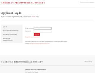 aps.onlineapplicationportal.com screenshot
